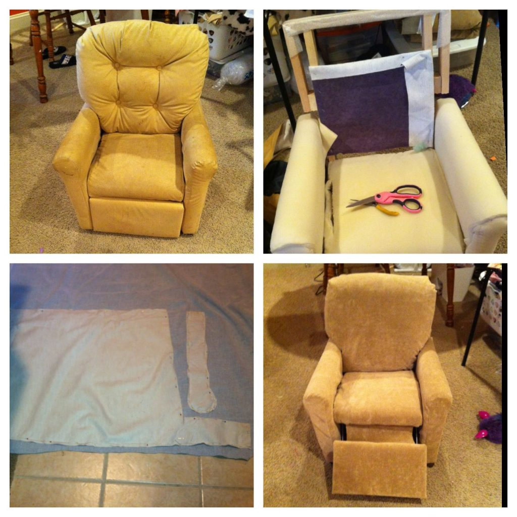 How to Reupholster a Recliner?