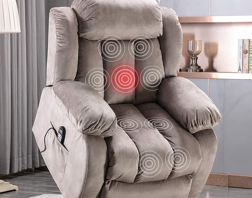 8 Best Massage Chairs for Back Pain - Your Body Will Be Grateful To You