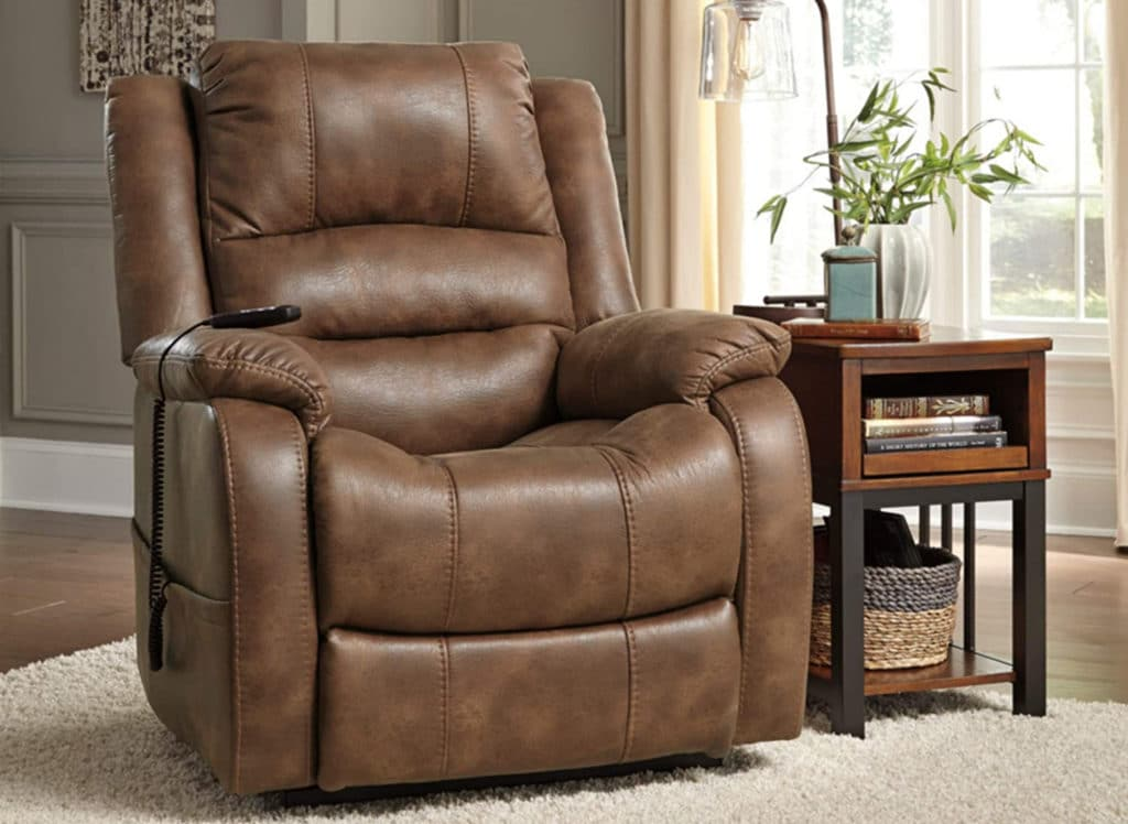 Signature Design by Ashley Yandel Power Lift Recliner Review