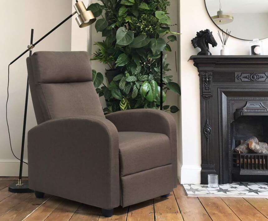 7 Best Fabric Recliners - Stylish and Soft